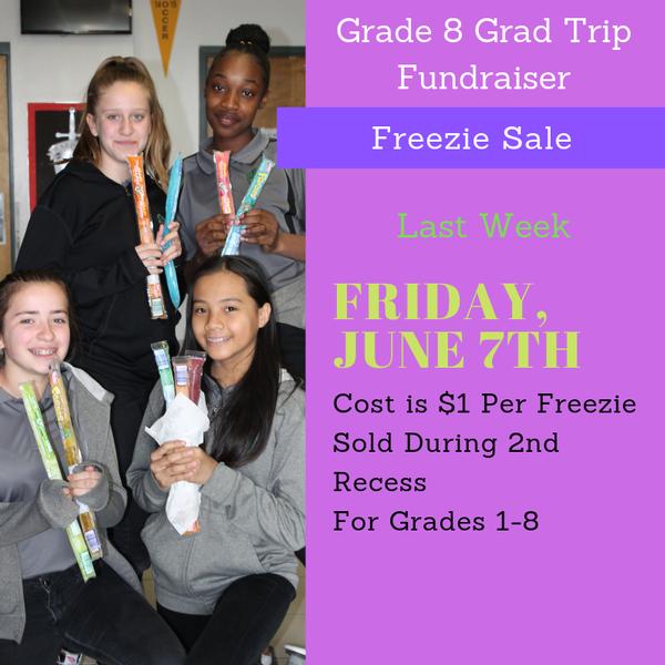 Freezie Sale