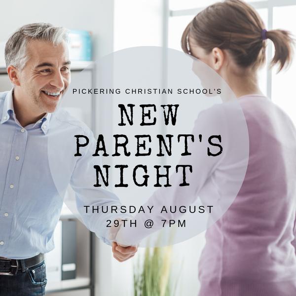 New Parent's Night