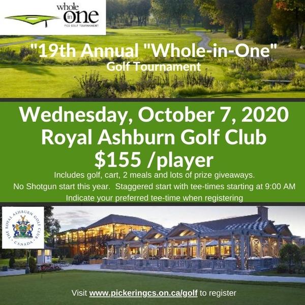PCS Golf Tournament @ Royal Ashburn