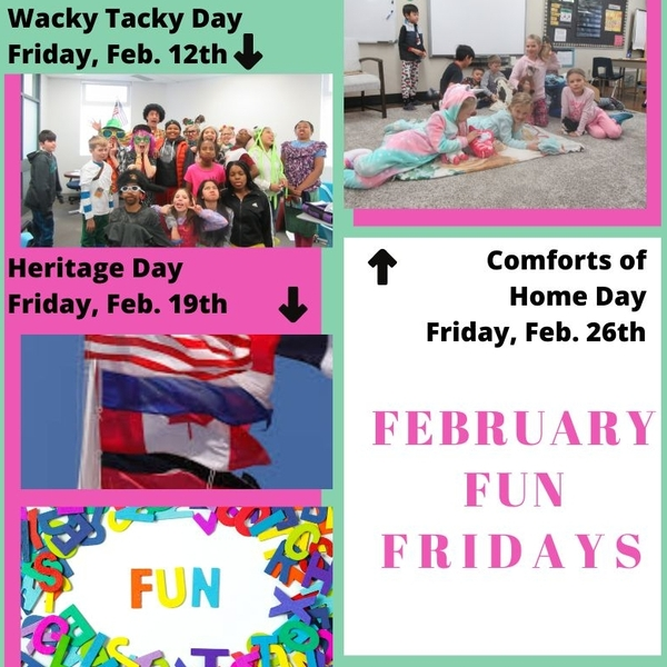 February Fun Fridays - Comforts of Home