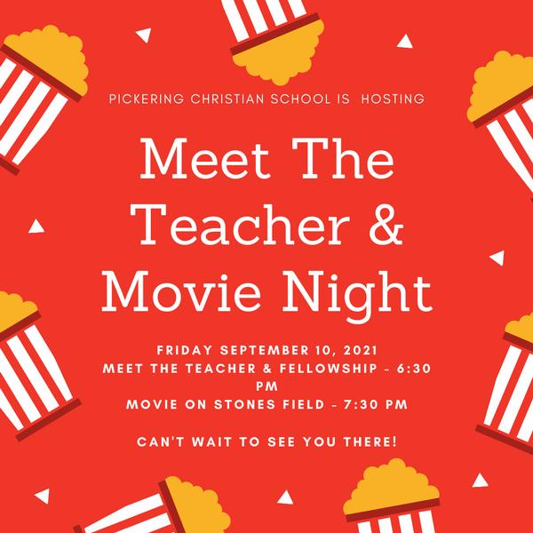 Meet the Teacher Movie Night